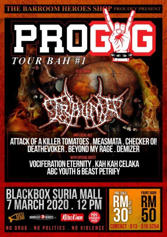 Beast Petrify Pro gig Sabah flyer