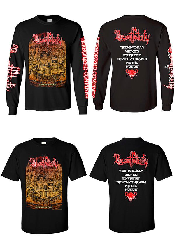 Beast Petrify official shirts - Merchandise